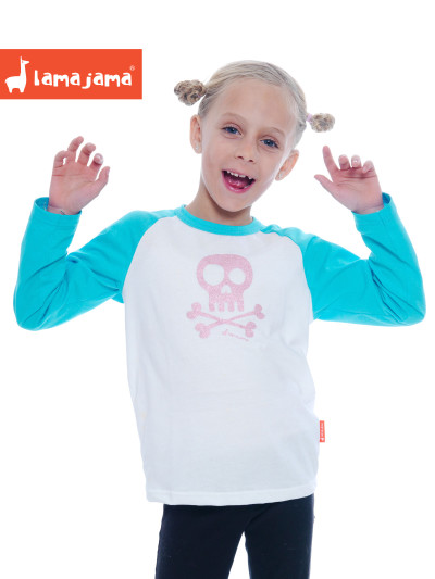 LAMAJAMA_pink-blue-pirate-t-shirt
